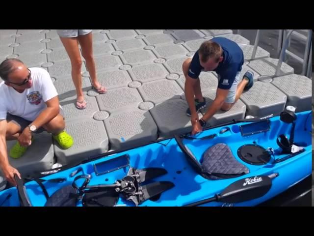 Nautical Ventures | Hobie Kayak - Oasis Demo
