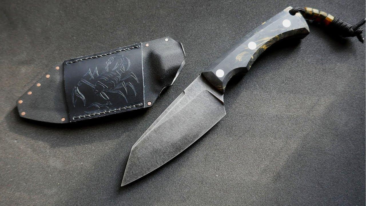 Knife Making - Sheath for Stonewashed Knife