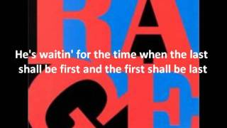 Download The Ghost of Tom Joad -Rage Against The Machine (w/ lyrics) MP3 song and Music Video