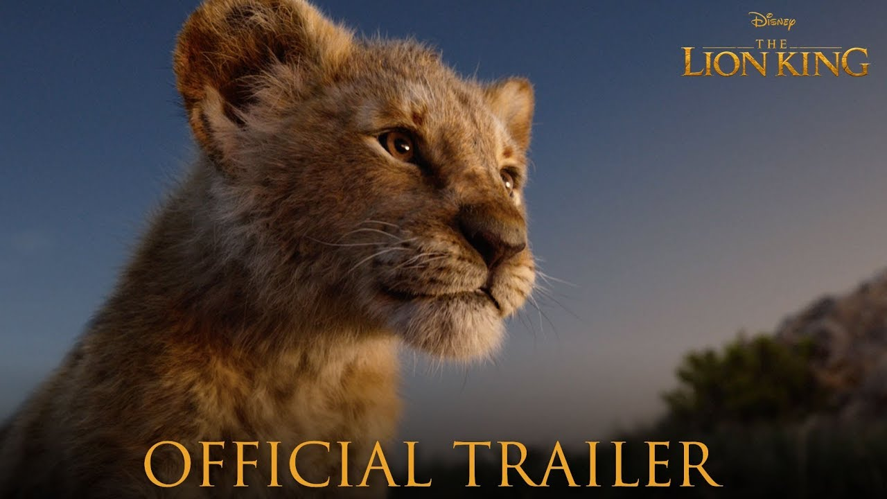 The Lion King Official Trailer Youtube