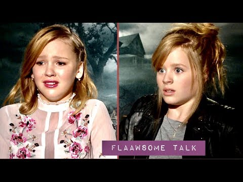 The Kids BREAK Down IN TEARS During Annabelle Creation Interview