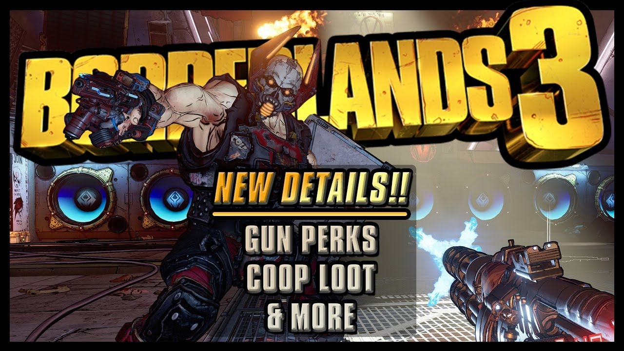 Borderlands 3 - NEW Info | Gun Perks, Golden Weapons, VIP, Coop Loot & More