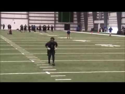 Corey Felton NFL Regional Combine 2016 CB Drills