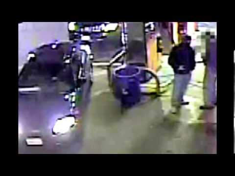 Belmont Bronx gas station robbery suspects