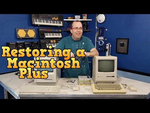 Restoring the Macintosh Plus to working order!
