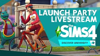 LAUNCH PARTY + COUNTDOWN: The Sims 4 Discover University