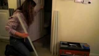 How to install DIY Door Gap Fix on a short Interior Door to extend & blend w Door