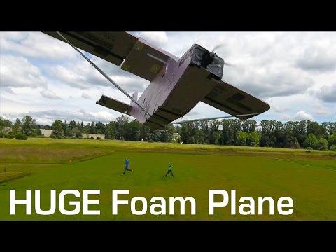 Huge Foam RC Plane - RCTESTFLIGHT -