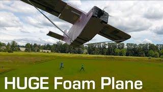 RCTESTFLIGHT - Huge Foam RC Plane