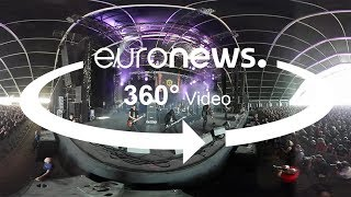 Heavy metal in 360°: Hanging out at Hellfest festival