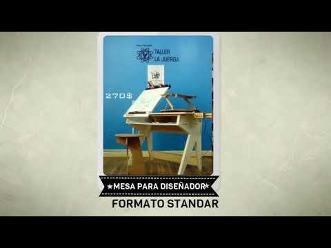 MESAS DE DIBUJOCATALOGO TALLER LA JUERGA  YouTube