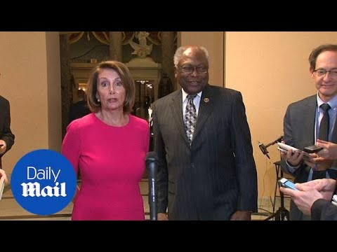 Nancy Pelosi said she will give ONE DOLLAR for Trump's wall