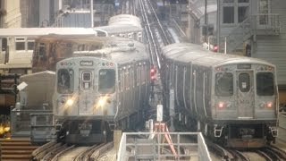 Chicago CTA Junction 18 Timelapse