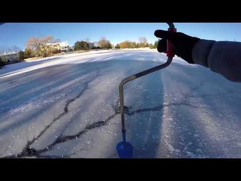 Pond Bass Ice Fishing Mission - Arctic BLAST