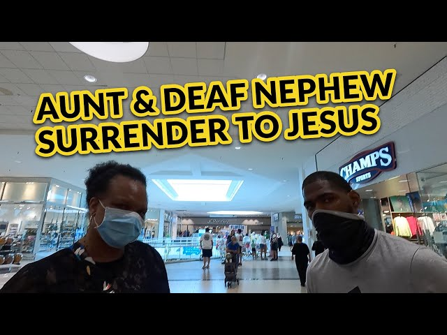 Aunt and Deaf Nephew Surrender Their Lives to Jesus