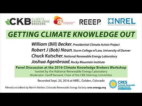 Getting Climate Knowledge Out