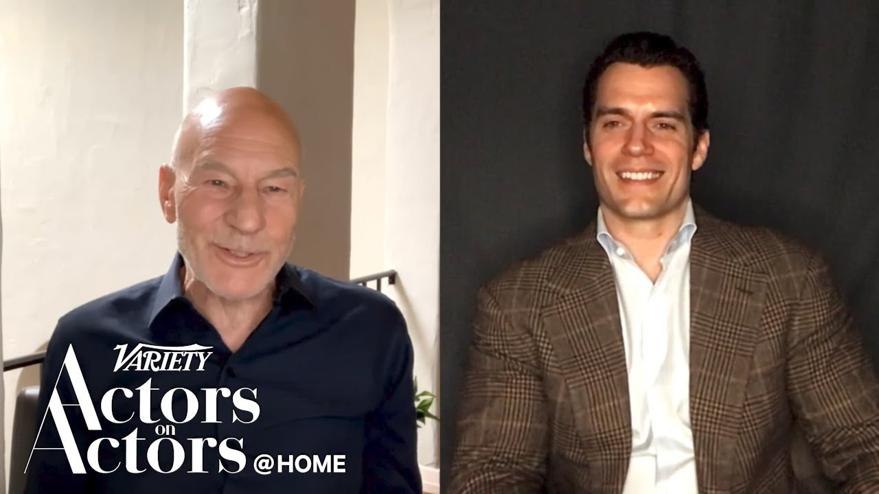 Patrick Stewart and Henry Cavill Interview Each Other