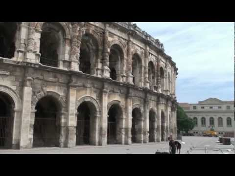 South of France May 2012 Part 3 Nimes, Avignon & Chateauneuf du Pape