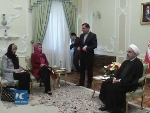 EU foreign policy chief meets Iran