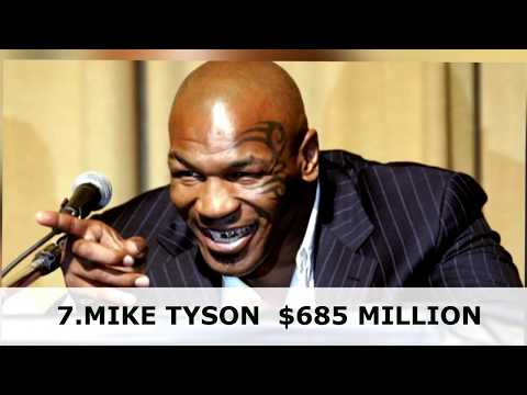 The 10 Highest-Paid Athletes Of All Time