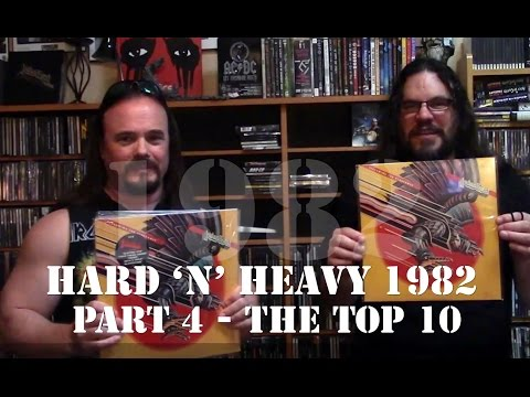 Hard 'n' Heavy - Top Albums of 1982 - Part 4 | THE TOP 10