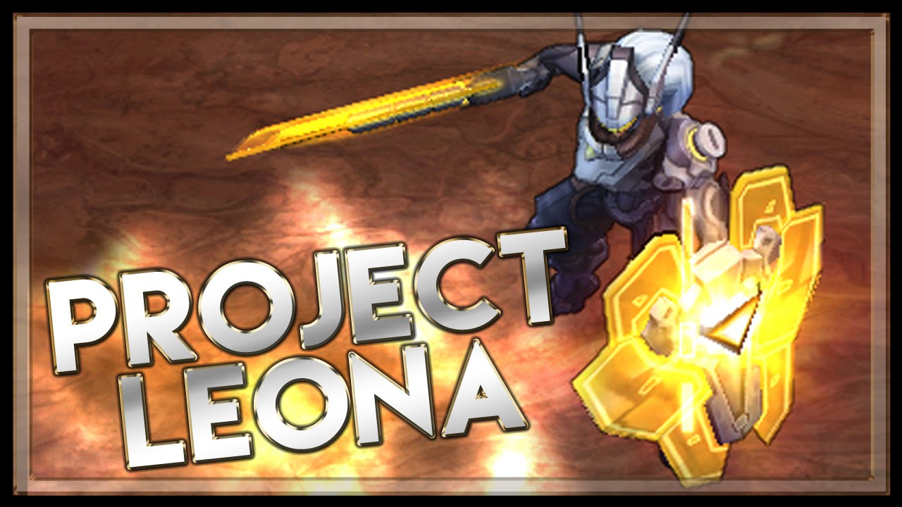 Project Leona Skin Spotlight League Of Legends Leona Skin Youtube