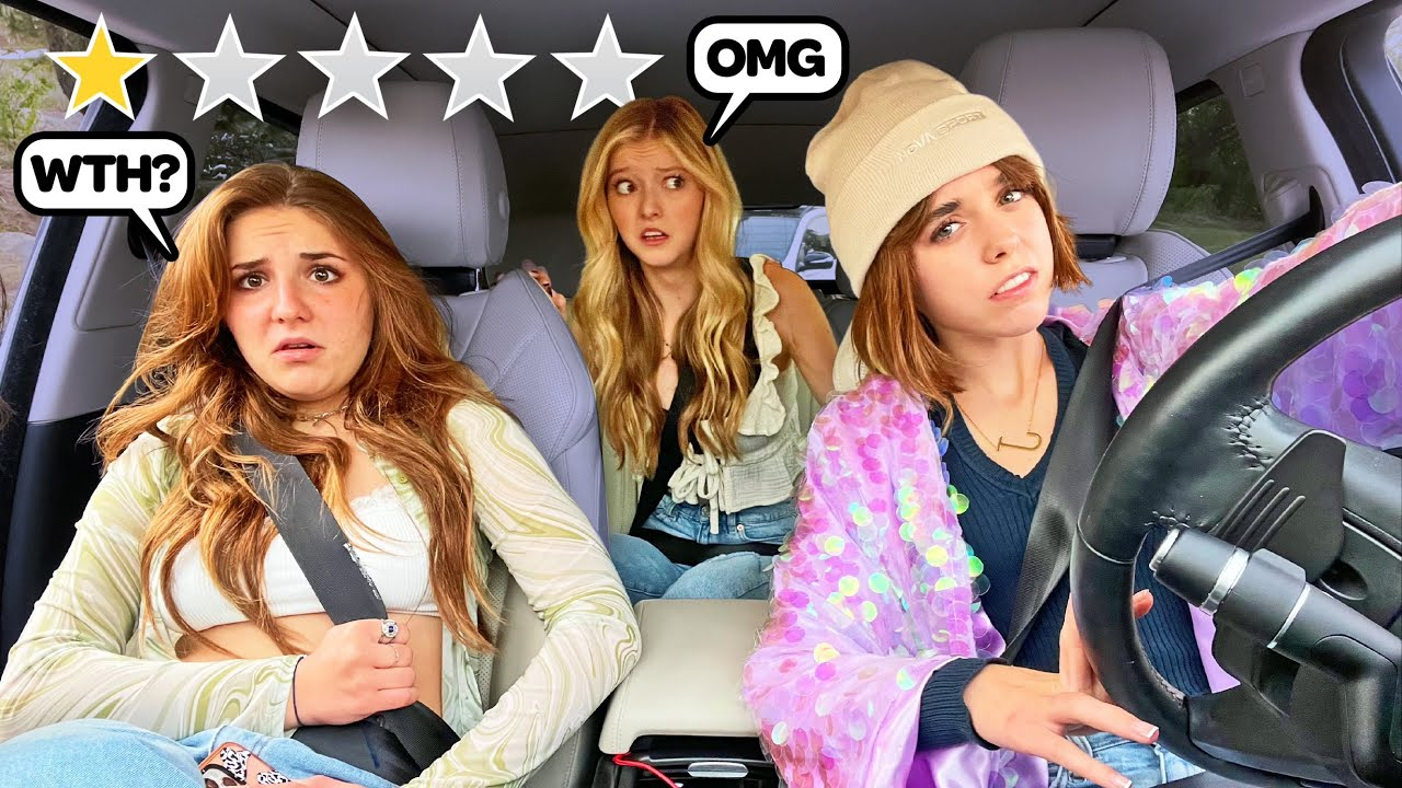PICKING Up My FRIENDS As An UNDERCOVER UBER DRIVER!!