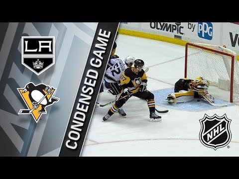 Los Angeles Kings vs Pittsburgh Penguins – Feb. 15, 2018 | Game Highlights | NHL 2017/18. Обзор