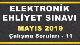 MAYIS 2019 ELEKTRONİK Ehliyet Sınav SORULARI ve CEVAPLARI - 11