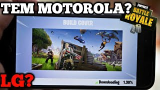 "FORTNITE MOBILE FOR MOTORCYCLES (G, E..), LG (...) And LENOVO understand! + DOWNLOAD APK UPDATED ""for Everyone"""