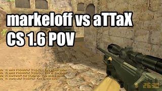 POV: markeloff vs. aTTaX @Arbalet CS 1.6 Demo