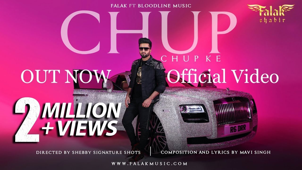 Chup Chup Ke – Falak Shabir Mp3 Hindi Song 2020 Free Download