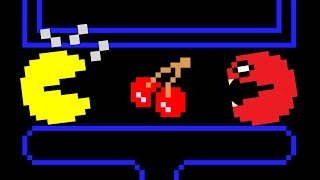 Red Monster Pacman Vs. Pacman in Classic Arcade 2D [The Beginning]