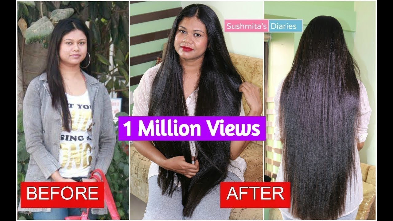 my hair journey   how i grew my hair? from short & thin to long