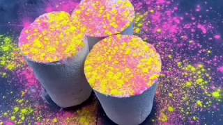 Powdery ASMR. Reformed gym chalk cylinders. Daily videos on Instagram @mindpeace_asmr