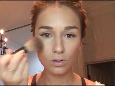 jessie james decker fresh dewy makeup tutorial youtube