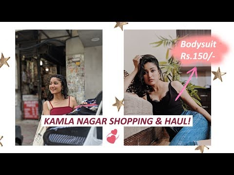 Kamla Nagar Shopping & HAUL  Summer  SONIA