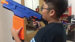 รีวิวปืน nerf rival khaos mxvi 4000 ไทยครับ