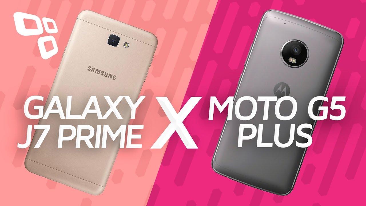 8f0c61c5d Comparativo  Galaxy J7 Prime vs. Moto G5 Plus - TecMundo - YouTube