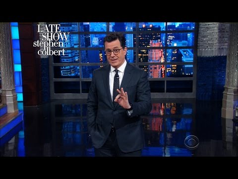 Jeff Sessions Can't Recuse Himself From Stephen's Monologue