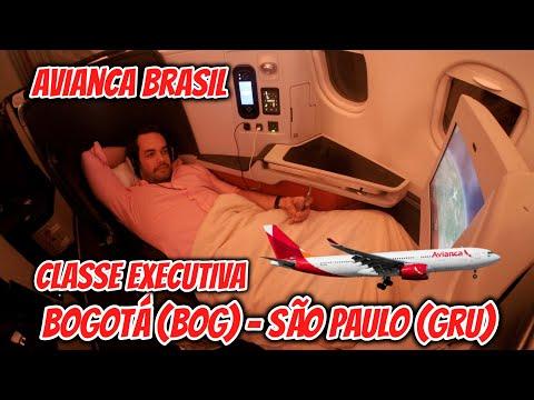Flight Report #24: MELHOR SERVIÇO entre Bogotá e São Paulo, na BUSINESS CLASS da Avianca Brasil