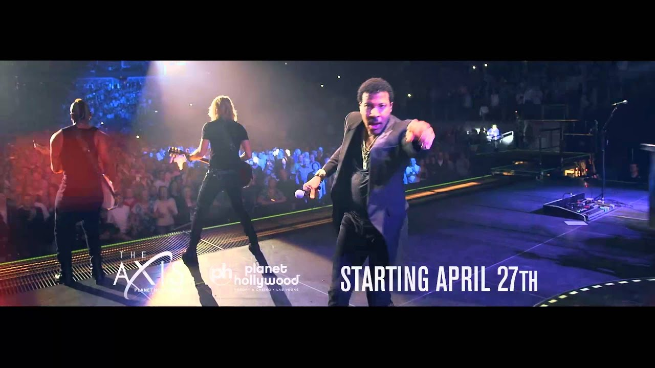 Lionel Richie All The Hits All Night Long In Las Vegas Youtube