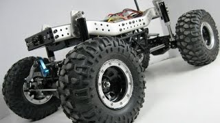 Tamiya CR01 Land Cruiser RC 4x4 Crawler Project Truck