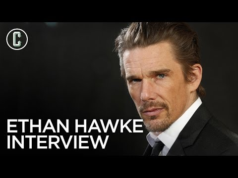 Ethan Hawke on Blaze, First Reformed and Those Logan Quotes