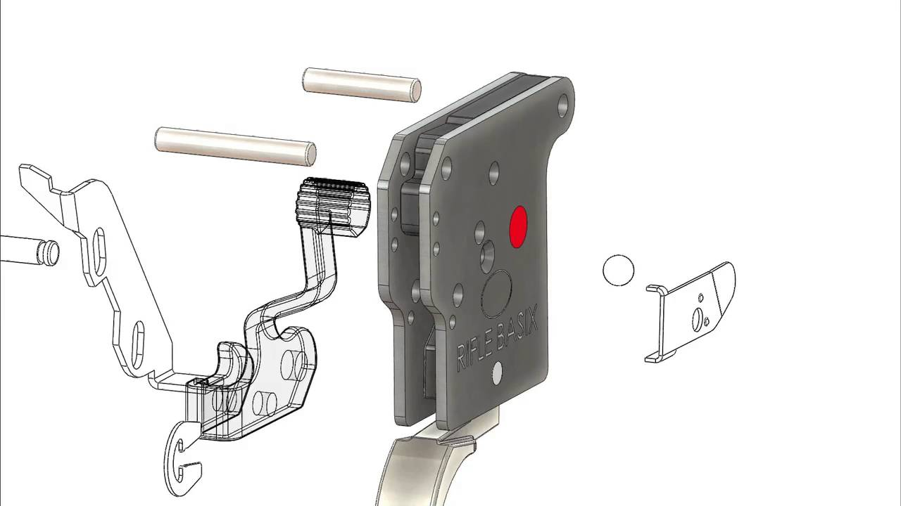 Remington Model 700 Trigger Replacement