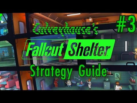 Fallout Shelter Strategy Guide, Part 3: Building Deeper And Arming Your Dwellers!