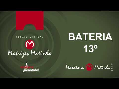 BATERIA 13º Matrizes Matinha 2019