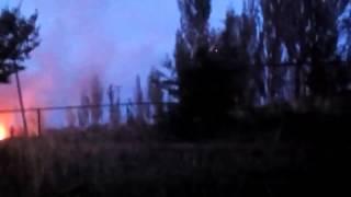 ВСУ попали под удар БМ-21 'Град' Ополчения (мат!)