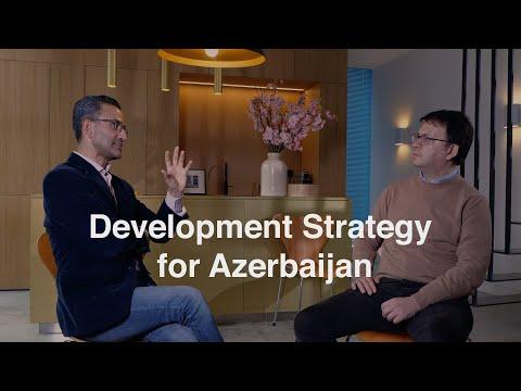 Post-war development strategy for Azerbaijan - Prof. Dr. Ahmadov