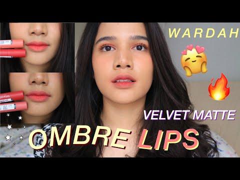 ombre-lips-pakai-velvet-matte-wardah-baru!